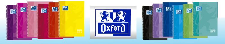 Cuadernos Oxford. Nuevos colores Tendencias.